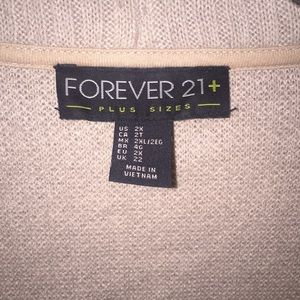 Forever 21 Sweaters - Forever 21+ cardigan sweater